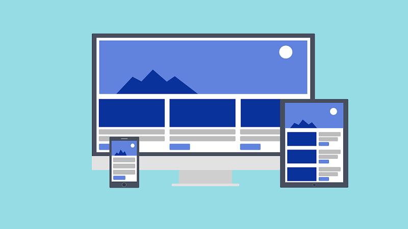Mobile website (responsive)